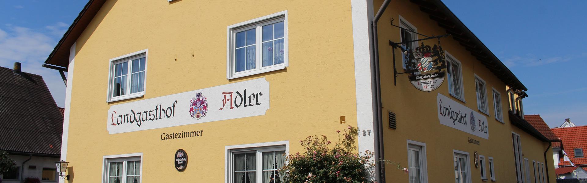 Willkommen im Landgasthof Adler in Aislingen